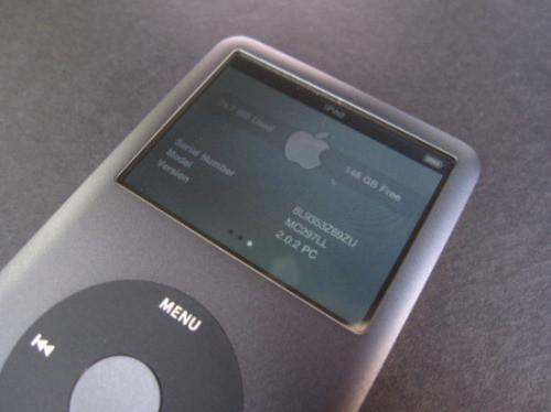 iPod classic 160GB开箱图赏