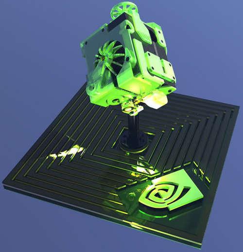 高性能立方体 国外最新翼扬机箱设计图