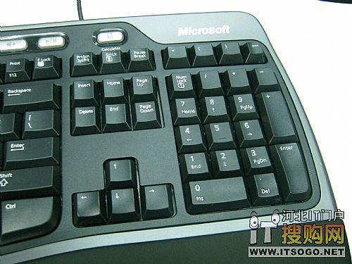 人体工程学键盘4000_微软人体工程学键盘4000 搜友直降100-微软 4000无线蓝影便携鼠标 ...