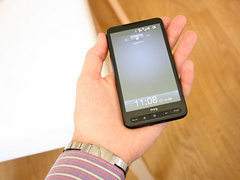 超大屏幕硬件机皇 HTC Touch HD2今到货