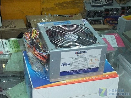 双滚珠风扇更静音 科尔达300W电源到货