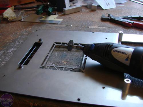 用白铁皮做水桶; 绝对专业级的diy全金属一体电脑