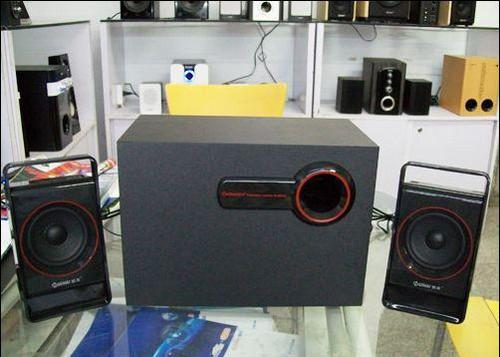 市场调查,慧海最热销的2.1系列音箱
