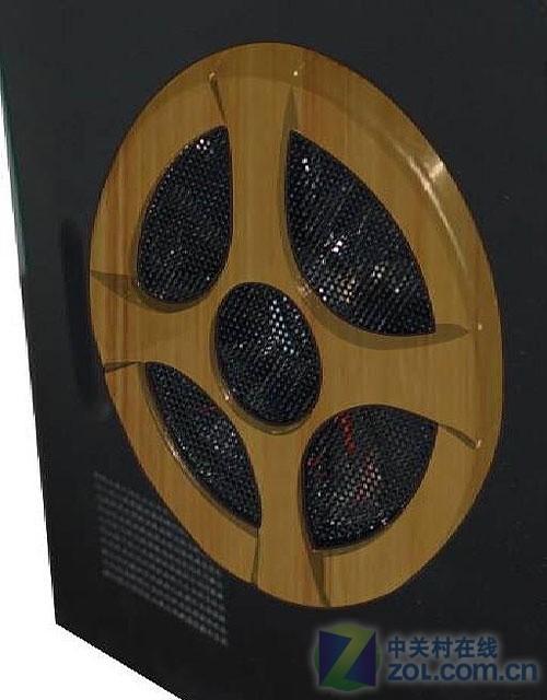 一线厂商玩MOD 富士康首推竹工艺机箱