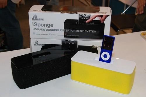 海绵宝宝? 国外厂商发布新款iPod音箱