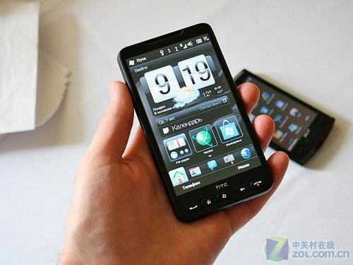1GHz+WM6.5+触控 HTC HD2今天震撼上市