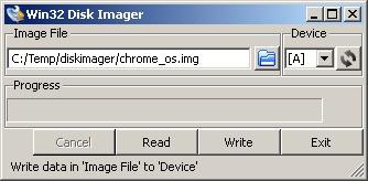 使用U盘启动在任意机器上运行Chrome OS