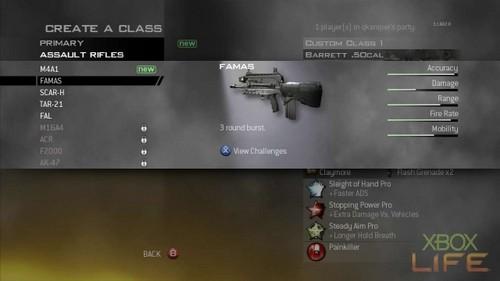 《现代战争2》多人连线武器与技能说明