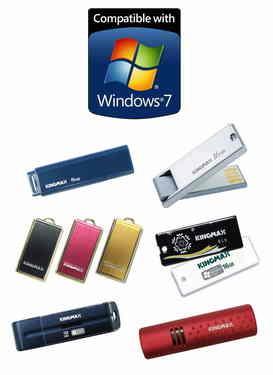 KINGMAX宣布全线产品通过Windows 7认证