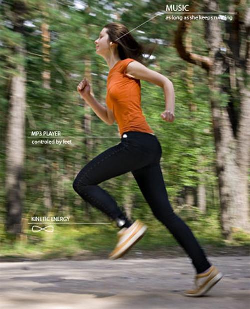 Walkman的升级版 Runman 概念运动MP3