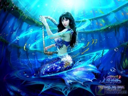 完美世界之人鱼传说_《完美世界-人鱼传说》美女代言人图赏-中关村在线