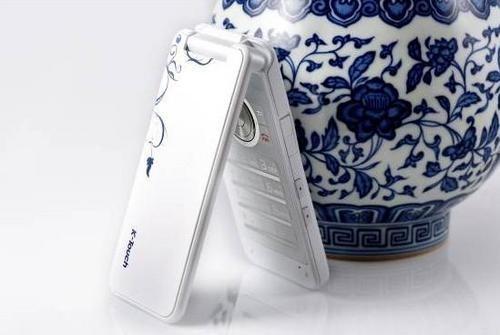 中国风青花瓷手机 天语v818今低价到货
