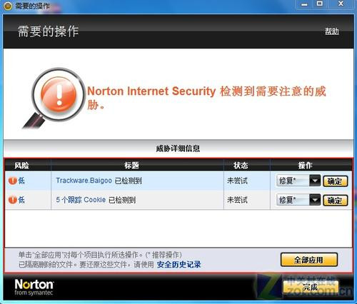 捍卫点击安全 诺顿安全特警2010版评测