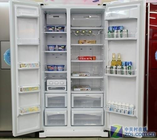 性价比出色 三星对开门冰箱仅售6490元