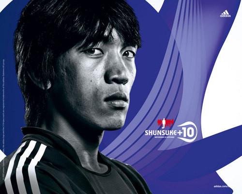 球星云集 阿迪达斯2010年世界杯壁纸