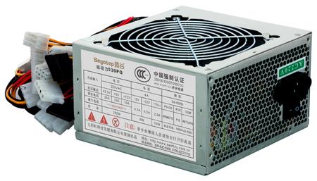 节能环保更实惠 鑫谷核动力530pq电源高清图片