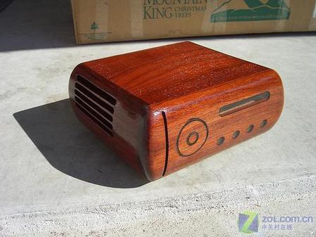 自制木头功放机箱
