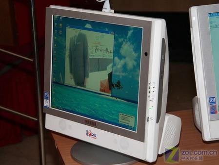 可爱宝电脑整合度高,安装方便,占用空间较小.
