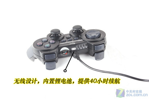 北通球王BTP-2269无线震动版手柄首测
