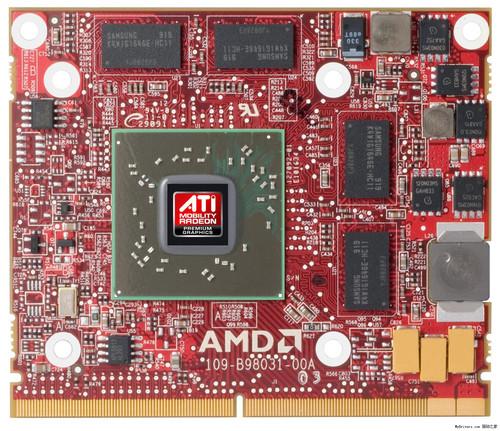 【01.11】AMD DX11 5000系列笔记本显卡详尽规格 官方图赏