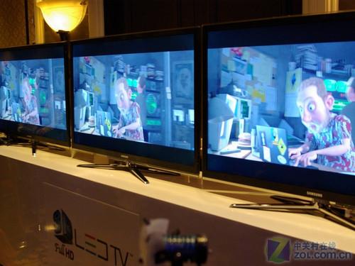 LED与3D结缘 2010CES三星发布最新电视