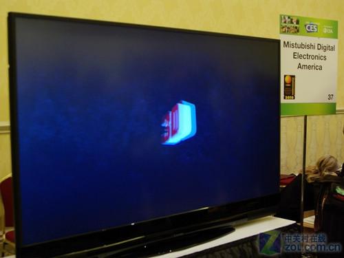 3D电视成为瞩目焦点 三菱新品亮相CES