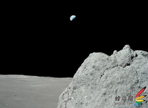 最新发布月球表面照片