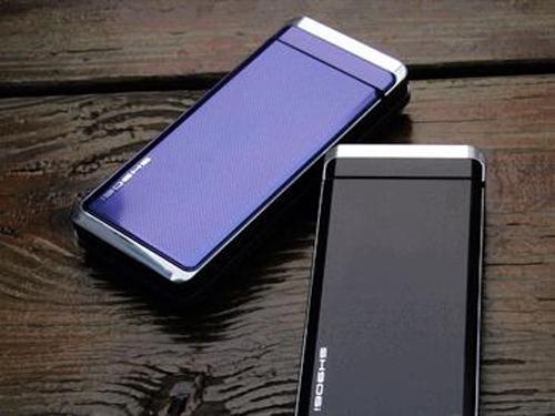 可旋转的翻盖式手机 时代夏普sh906i