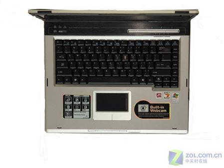 华硕1.8GHz笔记本配X1600显卡7999元