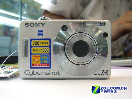 700万像素2.5寸大屏索尼W70售价2500