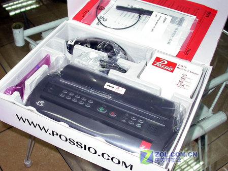 中关村商家促销 进口无线传真机送MP4