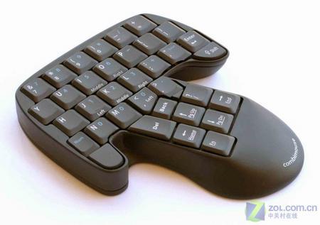 无奇不有 外国怪异键盘鼠标竟能合体
