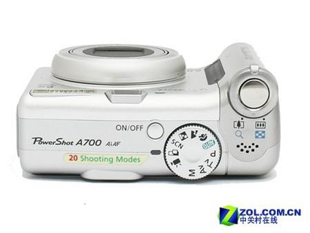 6倍光变的长焦DC 佳能A700降价260元