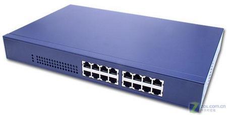 简洁 简单 网件JFS516百兆交换机测试