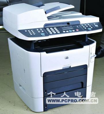 HP LaserJet 3392 多功能一体机评测