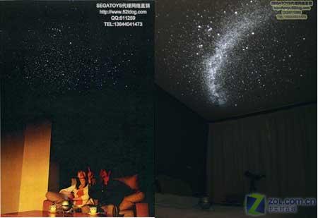 1千多元投影机上市 可看10000颗恒星
