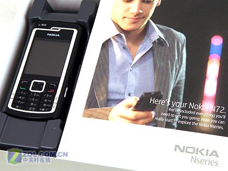 淘汰N70?简体中文版诺基亚N72独家评测
