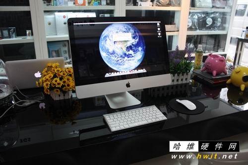 苹果电脑办公桌面