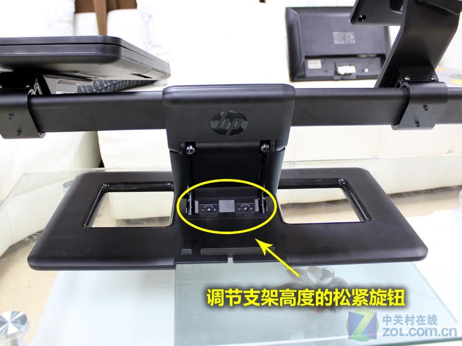 惠普液晶显示器和笔记本电脑组合支架赏析