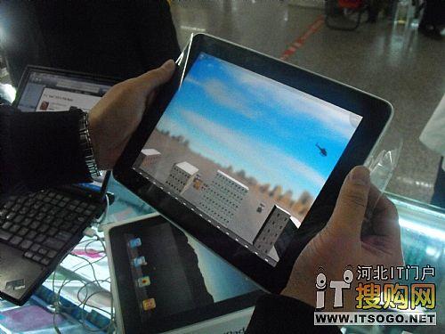 苹果ipad上的可以运行重力感应游戏