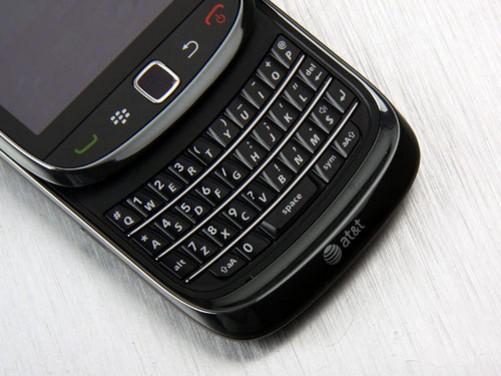 时尚滑盖商务手机 湖南黑莓9800热售中