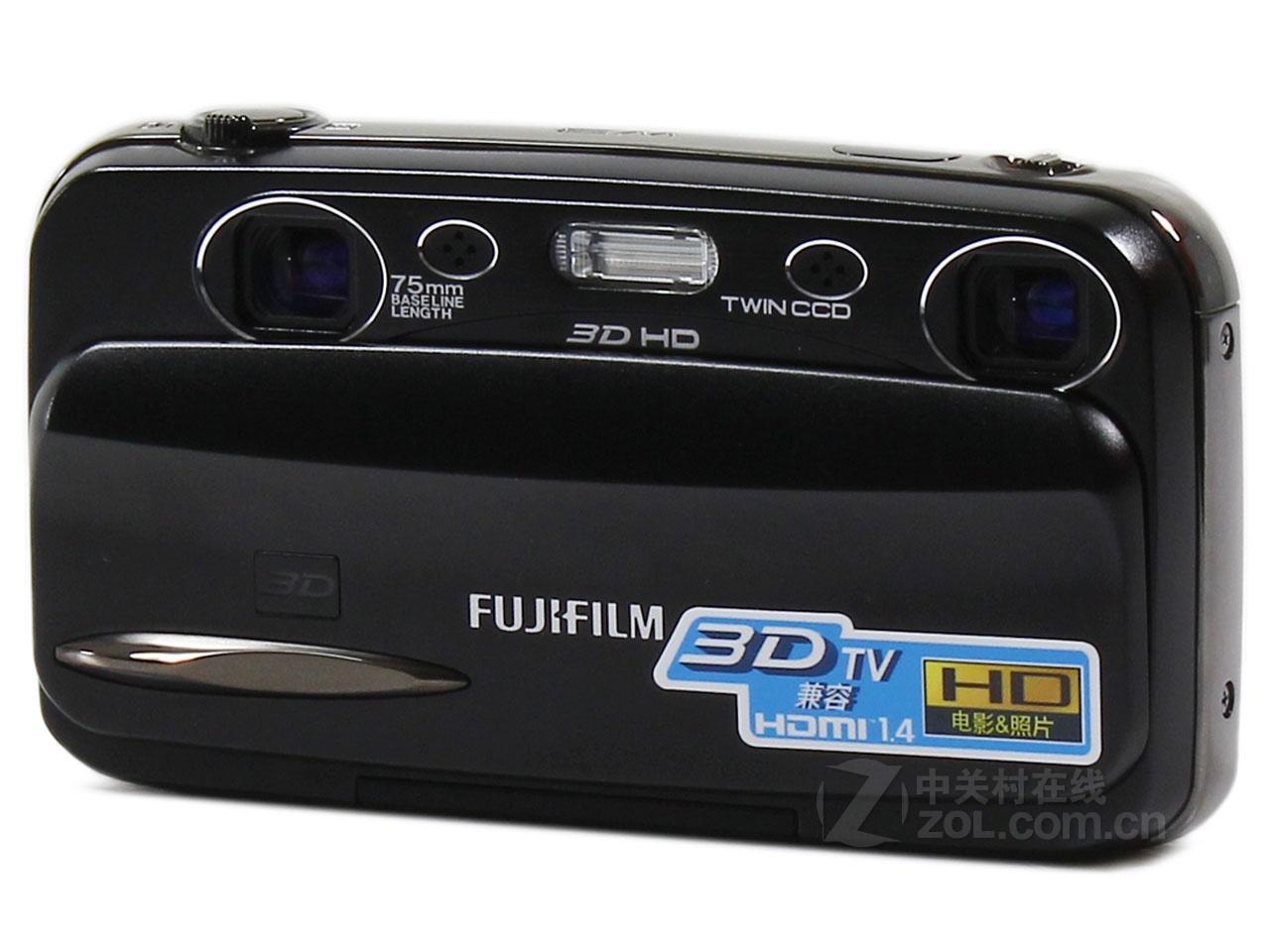近年随着3D电影日趋火爆,无论是电视还是显示器甚至是笔记本电脑都玩起了3D,数码影像产品自然也不甘落后,许多厂家推出了试验性产品,作为3D影像类产品的探路者,富士公司推出其首款便携式3D数码相机W1受到了广泛的关注,继而于2010年8月推出了升级产品FUJIFILM FINEPIX REAL 3D W3,率先走上数码影像产品真正的3D之路。 在核心硬件配置方面,FINEPIX REAL 3D W3继承了富士3D影像系统独特的双镜头+双感光元件结构,两个镜头和两个感光元件在拍摄时协同进行同步控制,用以防止所