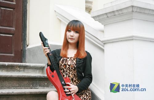 美女与英雄小曼dota美女吉他联盟图片