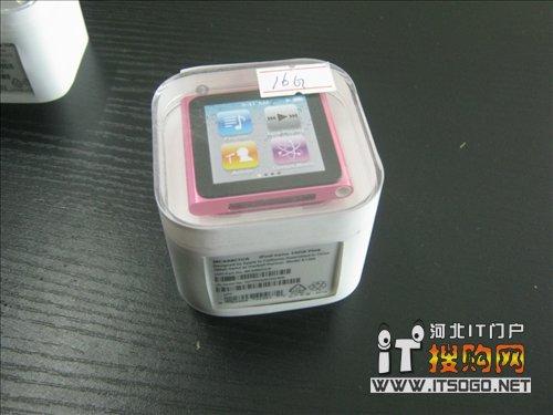 ipod nano6摇身变腕表 苹果外设69元 高清图片