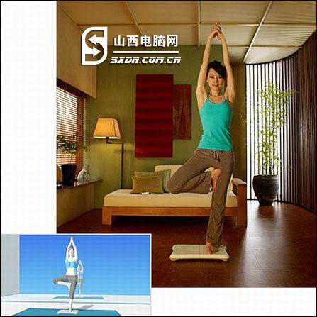 在家练瑜伽 韩版原装Wii平衡板更实惠_太原液