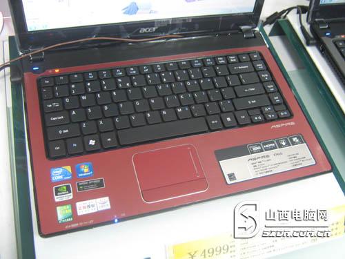节礼包 宏碁高端游戏本4399元-Acer 4741G-38