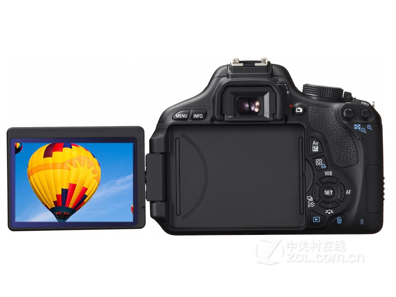 初级摄影首选机型 佳能600d单机仅3850