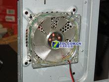 航嘉哈雷H001机箱散热系统