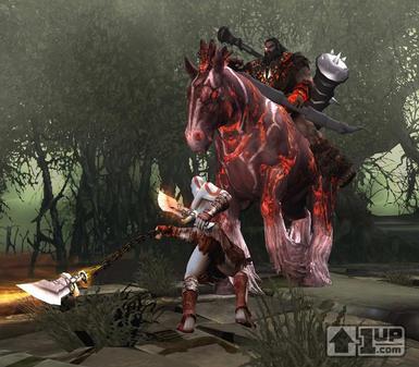 《战神2:圣剑神罚》新游戏画面公布