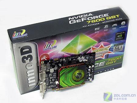 图为:Inno3D 7600GST 显卡